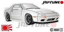 Mazda-RX-7-series-4   - White with Black Rims - JDM - JapTune Brand