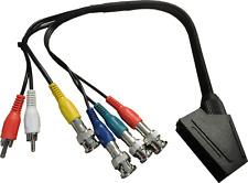 SCART zu BNC Breakout Adapter Kabel RGB / RGBS für SONY PVM / BVM Monitor CSYNC