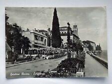 GARDONE RIVIERA Lungolago International BAR Brescia vecchia cartolina