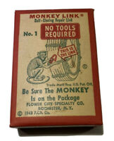 Vintage Monkey Links Tire Chain Repair Links In Original Box New Old Stock