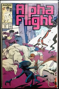 Alpha Flight Vol. 1 #54 VF+/NM-
