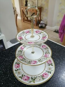 Royal Worcester ROYAL GARDEN three tier cake stand