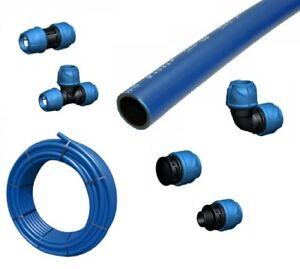 PE Rohr Stange Rohrbund 25 - 75mm PE 100 RC SDR 16 bar Druckrohr Trinkwasser