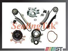 Fit 02-03 Dodge Jeep 3.7L V6 Engine Timing Chain Kit w/ Water Oil Pump JTEC Gear
