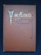 First Six Books Of Vergil's Aeneid Translated By E. Richardson 1883 Hardcover