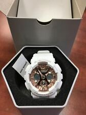 Casio GMAS120MF-7A2 G-Shock S Series White and Rose Gold  Women's Watch
