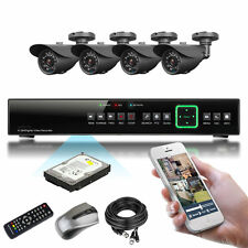 4 x Sony Effio-e CCD 20M IR Outdoor Full 960H Complete Pack P2P CCTV System 1TB