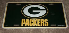 New listing NFL Green Bay Packers Metal License Plate Tag Brand New In Shrink Wrap Metal Car