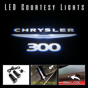 Lumenz CL3 LED Courtesy Logo Lights Ghost Shadow for Chrysler 300 100641