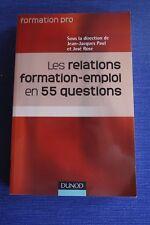 ROSE / Les relations formation-emploi en 55 questions