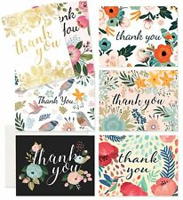 Thank You Cards - 37 Beautiful Thank You Card - Blank Cards - White Envelopes