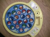 Let's Go Fishin Fish Replacement Fishing Toy Game Pieces 19 fish parts