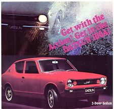 Nissan Datsun Cherry 100A 1971-72 UK Market Launch Foldout Sales Brochure
