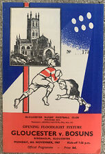 More details for gloucester v bosuns rugby union 1967