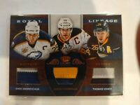 2012-13 Crown Royale ANDREYCHUK / POMINVILLE / VANEK Royal Lineage 31/50