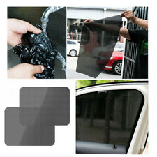 "Static Cling Screen 4x Reusable Car Window Sun Shade Cover 25"" x 17"" Universal"
