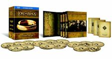 LORD OF THE RINGS TRILOGY (15 DISCS) EXTENDED EDITION BLU RAY BOX SET New Sealed