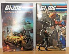 GI JOE The Transformers Trade Paperback Volumes 1 and 2