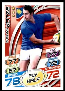 Topps Rugby Attax 2015 - Theuns Kotze Namibia No. 179