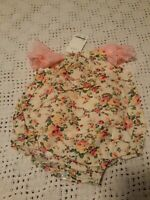 NWT 9-12 Month Girl Lace Romper