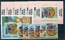 Guinea - Bissau 374  / 379 aA Block 11/17 bA postfrisch / UPU - Musik ..... 1/62