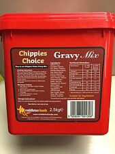 Chippies Choice Gravy Mix 2.5kg Chip Shop Takeaway Catering Pack In Tub