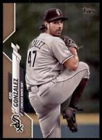 2020 Topps Series 2 Base Gold #414 Gio Gonzalez /2020 - Chicago White Sox