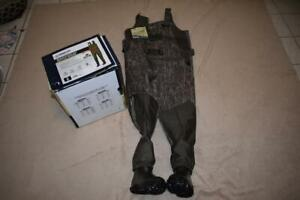 Magellan Swamplander 1200 Bootfoot Waders Mossy Oak Bottomland Size 8 NIB