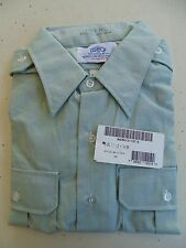 US ARMY DISCONTINUED ALL RANKS SERVICE DRESS GREEN L/S SHIRT SIZE 17.5X34/35 NWT