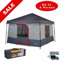 6-Person Tent Outdoor Cabin Shelter Waterproof Portable Family Camping Shelter