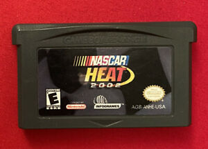 NASCAR Heat 2002 - Cartridge Only - Nintendo Game Boy Advance -TESTED US Version