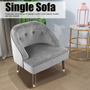 Modern High Back Accent Tub Chair Armchair Sofa Lounge Seat Living Room Bedroom