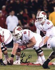 Tyler Biadasz Wisconsin Badgers Signed 8X10 Photo 2020 Nfl Draft
