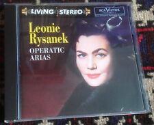 RCA LIVING STEREO 09026 689202 LEONIE RYSANEK operatic arias 1996 EU CD