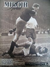 FOOTBALL CHAMPIONNAT RACING SAINT-ETIENNE CATCH CARNERA N° 31 MIROIR SPRINT 1946