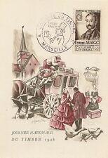 CP JOURNEE DU TIMBRE 1948 ETIENNE ARAGO
