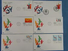 25 FDC ENVELOPPE PREMIER JOUR NATIONS UNIES UNITED YEAR 1972 FIRST DAY COVER