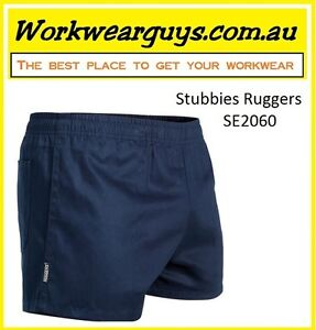 STUBBIES RUGGERS Work Shorts - Workwear (Navy, Black or Green) # FAST DELIVERY #