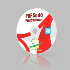 2017 Professional PDF Suite.Convert Create Split Merge Edit Windows 10 8 7 XP