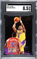 1996 Fleer Basketball Kobe Bryant ROOKIE RC #203 SGC 8.5