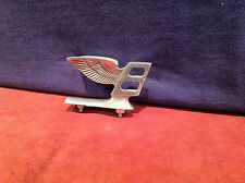 "Bentley CAR MASCOT HOOD ORNEMENT Flying B ""RARE Long Base 2 Boucles Type"""