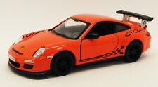 2010 Porsche 911 GT3 RS Orange - Kinsmart Pull Back & Go Metal Model Car