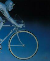 """M. Reuter """"California"""" Um 1980/1990 Airbrush, signiert"""