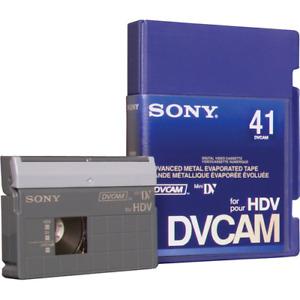 Sony PDVM-41N/3 DVCAM for HDV/Mini DV Tape - 10 Pack
