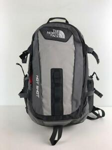 THE NORTH FACE Hot Shot   Gray Fashion Back Pack 5480 From Japan