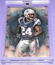 2014 Topps Inception DARRELLE REVIS #77 Blue True #1/1 Patriots - PITT Panthers