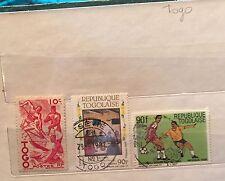 Feuilles Togo Usa Tunisie Tchécoslovaquie Voir Les 7 Photos 135 Timbres Num13