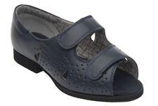 Sandali e scarpe blu con cinturino per il mare da donna