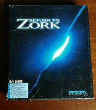 Return to Zork (PC, 1993) CD-ROM Vintage Game, Includes Zork Anthology