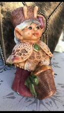 """""""Basket Of Love� -Under The Hedge gnome"""